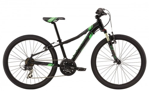 "Rower Cannondale Race 24"" Boys black/green 2017"