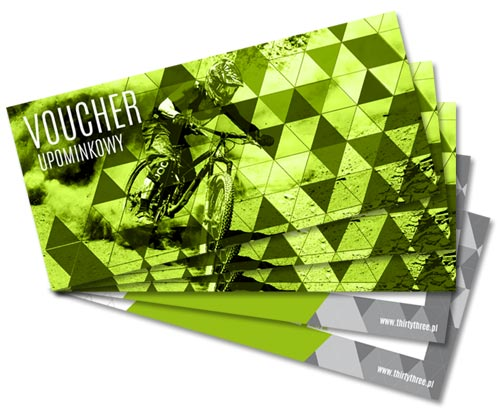 Zrób prezent - kup Voucher Thirty Three Bicycle Studio