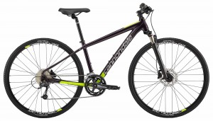 Rower Cannondale Quick Althea 2 r. M galaxy/ silver/volt 2018