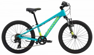 Rower Cannondale Trail 20 Girls turquoise/volt 2018