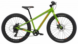 Rower Cannondale Cujo 24+ acid green 2018