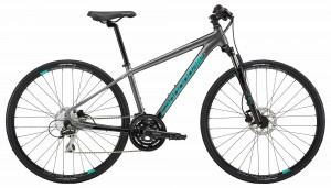 Rower Cannondale Quick Althea 3 gray/turquoise 2018