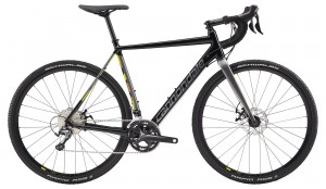 Rower Cannondale CAADX Tiagra black pearl/charcoal/yellow 2019