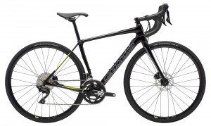 Rower Cannondale Synapse Carbon Disc Women's 105 black pearl/charcoal/volt 2019