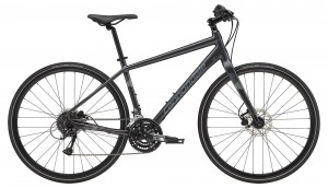 Rower Cannondale Quick Disc 4 graphite/silver 2019