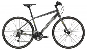 Rower Cannondale Quick Disc 5 charcoal/hot yellow 2019