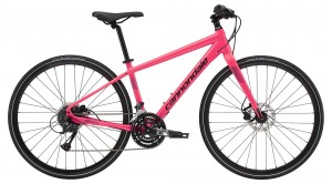 Rower Cannondale Quick Disc Women's 4 acid strawberry/black pearl 2019