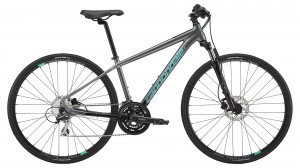 Rower Cannondale Quick Althea 3 gray/turguoise 2019