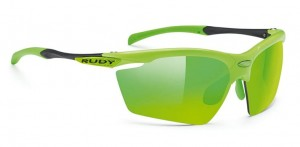Okulary Rudy Project Agon Cannondale Lime MLS zielone