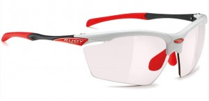 Okulary Rudy Project Agon R.Pro White ImpX2 Red