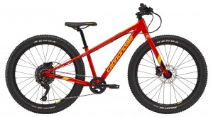 Rower Cannondale Cujo 24+ LTD acid red/hot yellow 2019