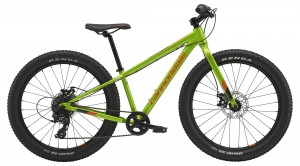Rower Cannondale Cujo 24+ acid green/hazard orange 2019