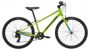 Rower Cannondale Quick 24 Boys acid green 2019