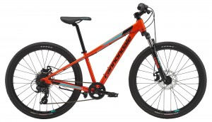 Rower Cannondale Trail 24 Boys acid red/jet black/turquoise 2019