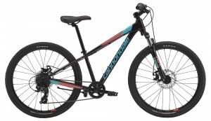 Rower Cannondale Trail 24 Girls galaxy/turquoise/coral 2019