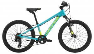 Rower Cannondale Trail 20 Girls turquoise/volt 2019