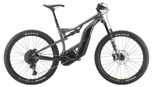 Rower Cannondale Moterra 1 graphite/jet black 2019