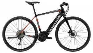 Rower Cannondale Quick NEO jet black/acid red/gray 2019