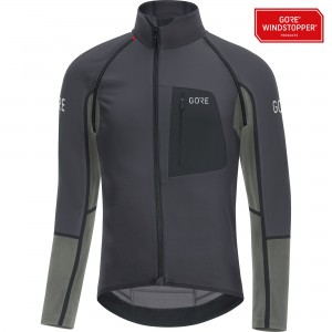 Bluza Gore Wear C7 Windstopper Pro Zip-Off grey