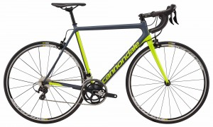 Rower Cannondale SuperSix Evo 105 gray/volt 2018