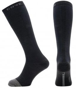 Skarpety rowerowe Gore Wear M Thermo Long Socks black/grey