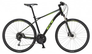 Rower GT Transeo Expert black/slime lime/grey 2019