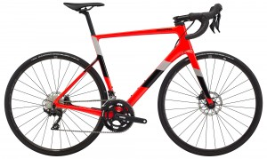 Rower Cannondale Super Six EVO Disc 105 50/34 acid red 2020