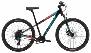 Rower Cannondale Trail 24 Girls galaxy/turquoise/coral 2018