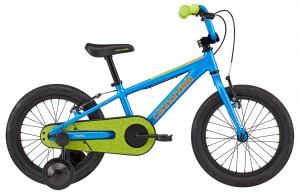 "Rower Cannondale Trail 16"" Boys FW Electric Blue 2020"