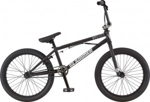 Rower GT BMX 20 Slammer Satin Black w/ Gloss Black Splatter w/ Chrome 2020