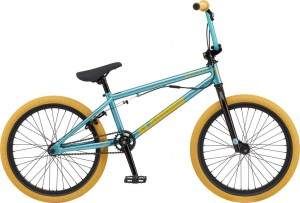 Rower GT BMX 20 Slammer Gloss Trans Mint w/ Metallic Gold 2020