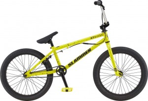 Rower GT BMX 20 Slammer Gloss Yellow w/ Black Splatter w/ Black 2020