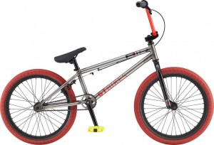 Rower GT BMX 20 Air Gloss Non Washed Raw w/Black & Red 2020