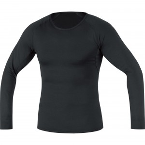 Bielizna Gore Wear M Base Layer Thermo Long Sleeve Shirt black