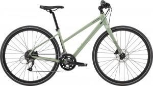 Rower Cannondale Qucki Disc Women's 3 Remixte Agave 2021
