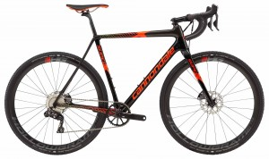 Rower Cannondale SuperX Di2 jet black/acid red 2018