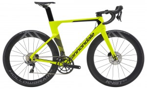 Rower Cannondale System Six Dura Ace volt/jet black 2019
