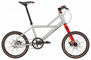 Rower Cannondale Hooligan 1 silver/red 2018