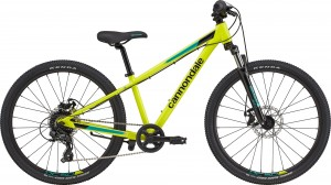 "Rower Cannondale Trail 24"" Girls Nuclear Yellow 2021"