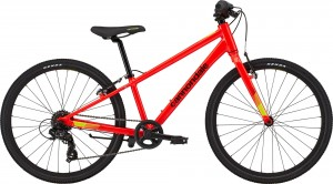 "Rower Cannondale Quick 24"" Boys Acid Red 2021"