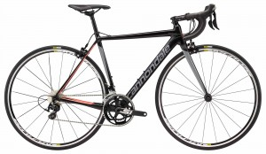 Rower Cannondale CAAD 12 Women's 105 jet black/gray/coral 2018