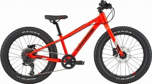 Rower Cannondale Cujo 20'' + Race Acid Red 2021
