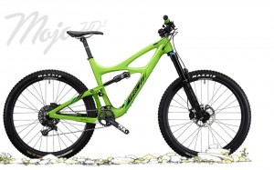 Rower Ibis mojo HD3 Special Blend 1X the green machine 2017