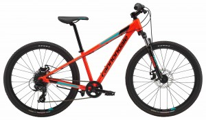 Rower Cannondale Trail 24 Boys acid red/jet black 2018