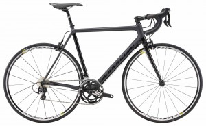 Rower Cannondale SuperSix Evo 105 black 2018