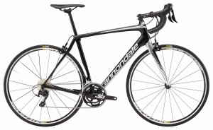Rower Cannondale Synapse Carbon 105 jet black/silver 2018