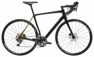 Rower Cannondale Synapse Carbon Disc Ultegra  jet black/green 2018