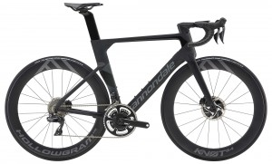 Rower Cannondale System Six Hi-Mod Dura Ace Di2 jet black/stealth gray 2019