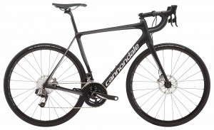 Rower Cannondale Synapse Carbon Disc Red eTap jet black/silver 2018