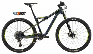 Rower Cannondale Scalpel Si Carbon SE 1 midnight blue/volt 2018
